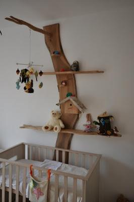 Móveis rústicos pra quarto de bebê estante lúdica