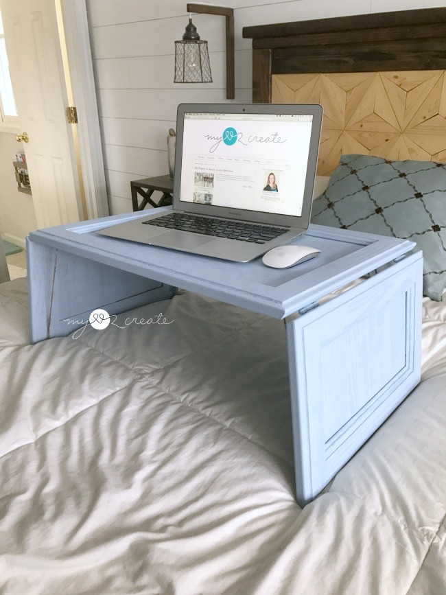 Easy to make lap desk