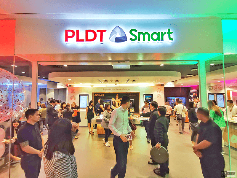 The PLDT-Smart Store is on the 4th floor of Ayala Malls Vertis North, Quezon City
