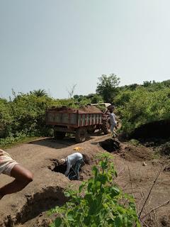 बुरहानपुर जिले में रेत के अवैध खनन माफियाओ पर विभागीय कार्यवाही शुरू