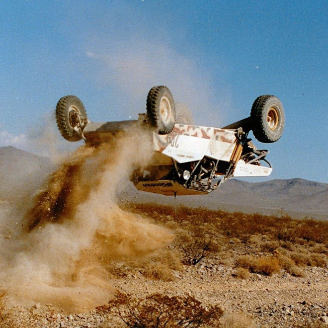 Mint 400 Raceco Buggy Desert Race Late 1980s - Image Jim Ober