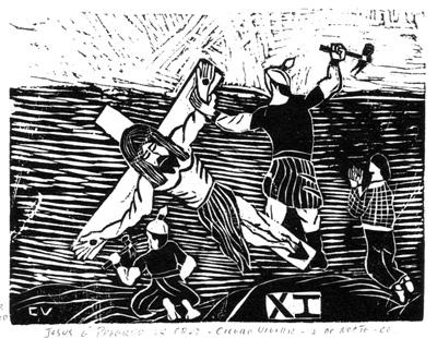 A briga na procissão da via-sacra e A Xilogravura na Literatura de Cordel