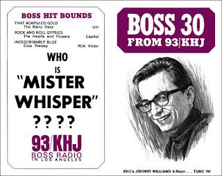 KHJ Boss 30 No. 85 - Johnny Williams