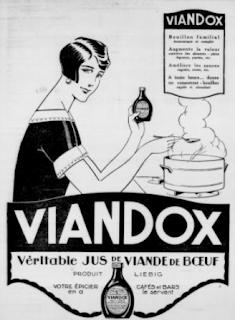 Publicité pour le viandox