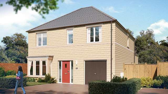 "This Is Bradford Property - 4 bed detached house for sale ""The Rosebury"" at Harrogate Road, Apperley Bridge, Bradford BD10"
