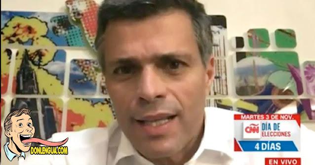 Leopoldo insiste en que debemos encontrar aliados dentro de la Dictadura para salir de Maduro