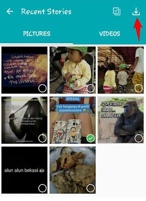 pihak WhatsApp sekarang memunculkan fitur keren yang membuatnya tampil menyerupai Instastory  Cara Simpan Foto & Video Status WhatsApp di Android