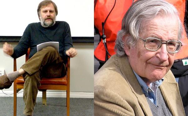 Chomsky sobre Žižek : No me interesan los falsarios intelectuales horros de todo contenido