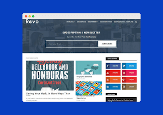 Revo Blogger Template Free Download |