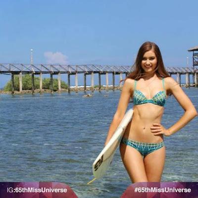 Miss Universe Australia - Caris Tiivel