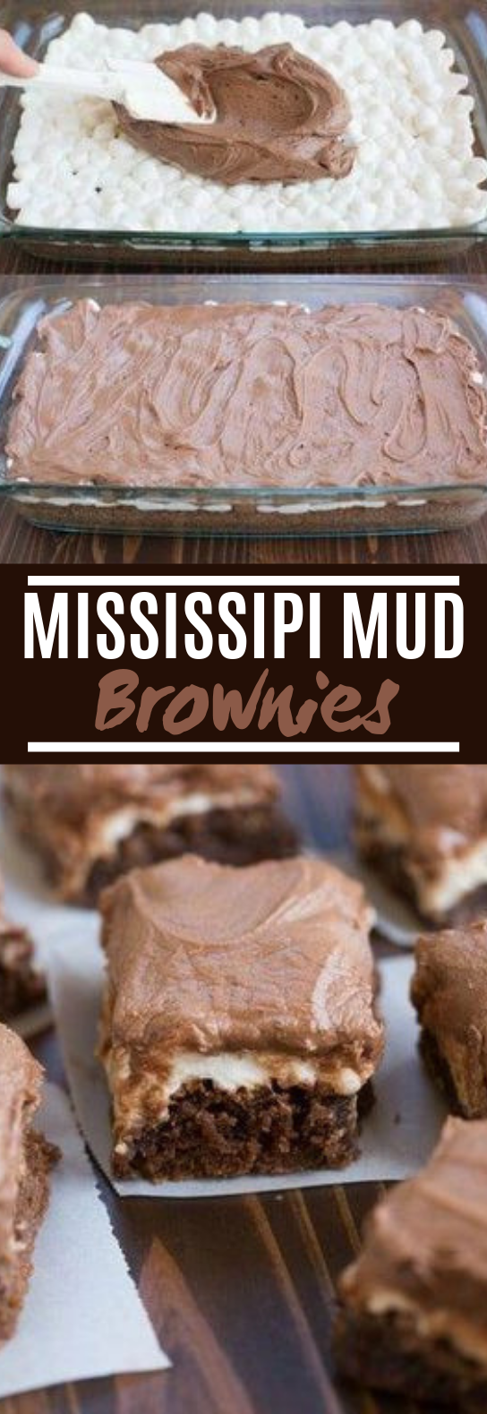 Mississippi Mud Brownies #desserts #brownies