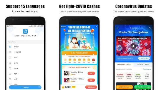 SHAREit - Transfer & Share v5.3.8 Mod Apk No Ads
