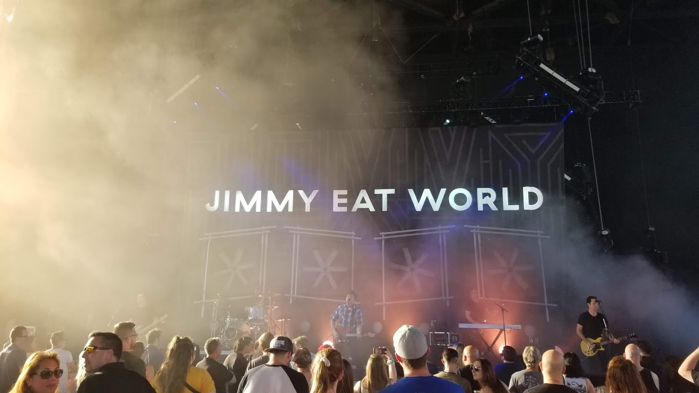 Jimmy Eat World at Freedom Hill Amphitheater in Sterling Heights, MI
