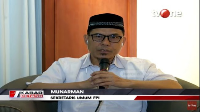 """Viral TNI Copot Baliho HRS, FPI Singgung OMSP, """"Artinya Presiden yang Berwenang Merintahkan"""""""