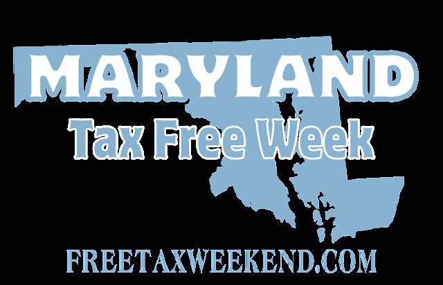 Maryland Tax Free Week Logo