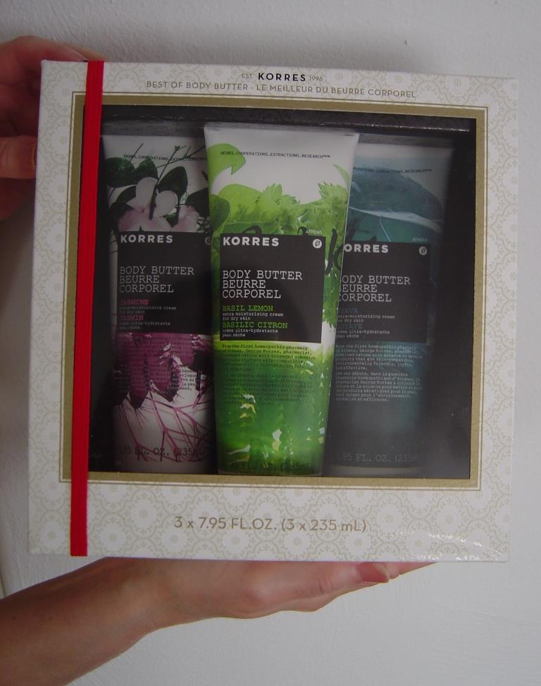 Korres Best of Body Butter Collection