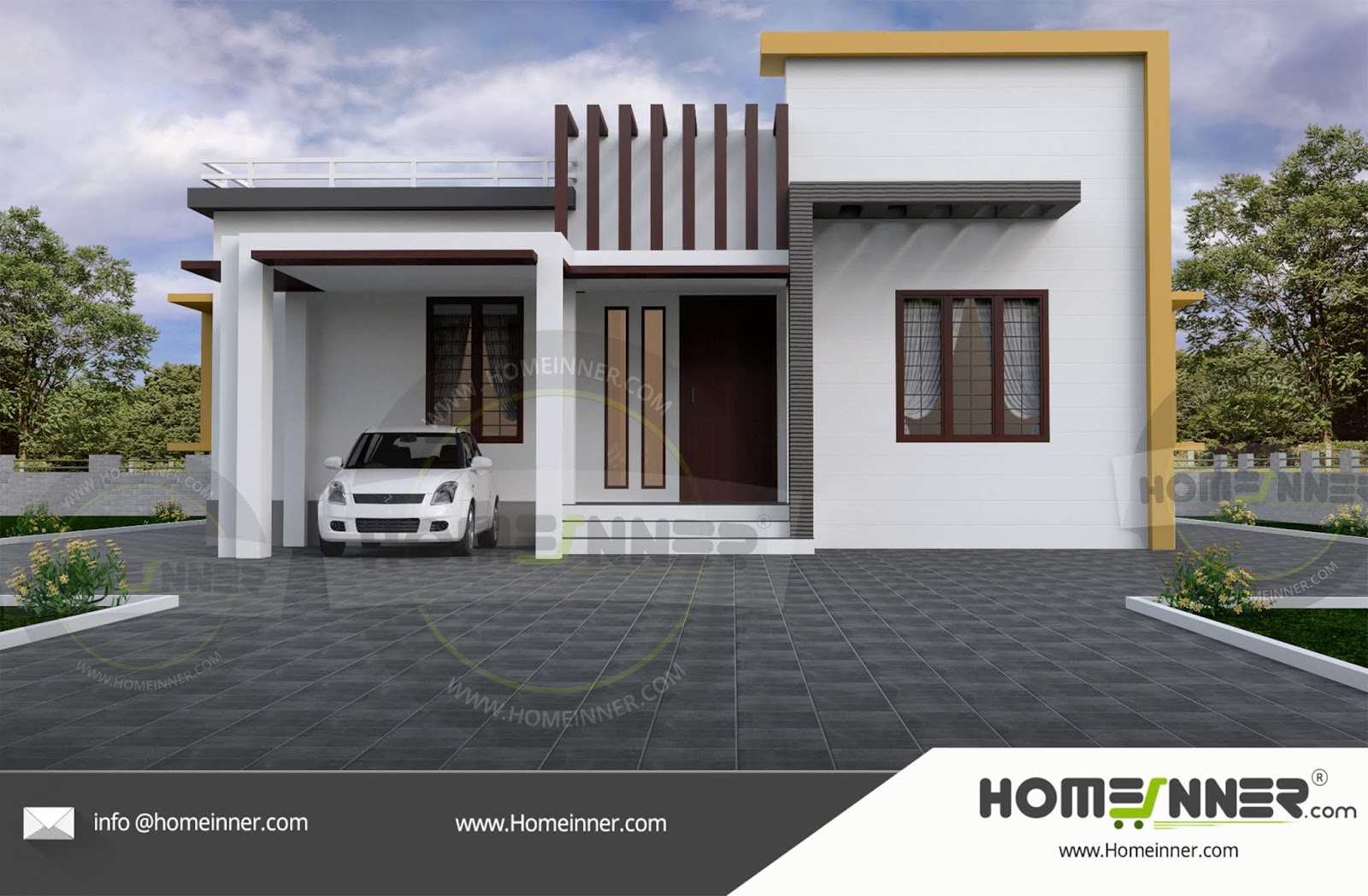 14 Lakh 3 BHK 1000 sq ft Ramagundam Villa