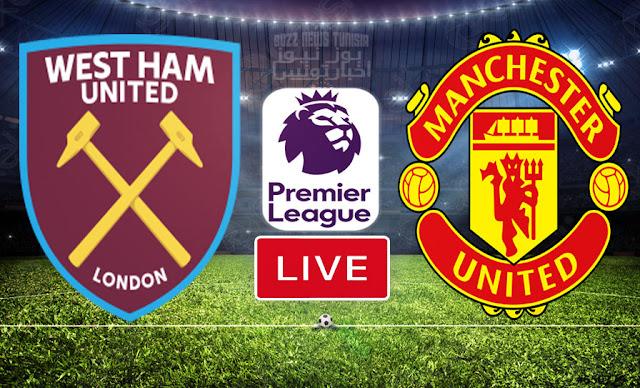 Match FootBall: West Ham vs Manchester United En Direct Premier League