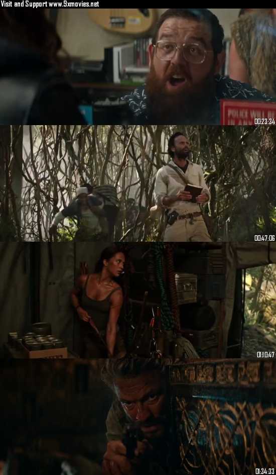 Tomb Raider 2018 Hindi Fan Dubbed 720p WEB-DL 900mb