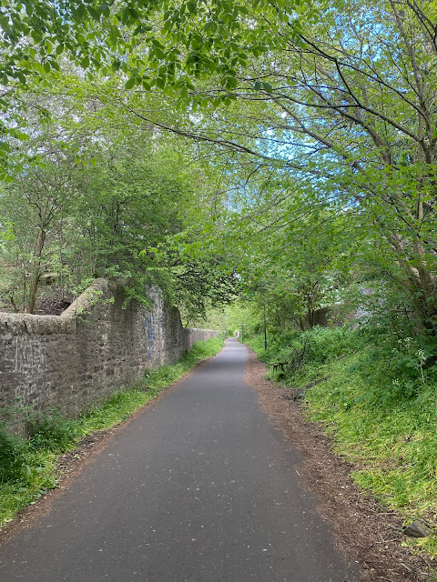 NCN1 cycle path, Holyrood Park, Edinburgh