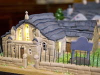 Wouw! This Women Makes Replica The village From Cakes