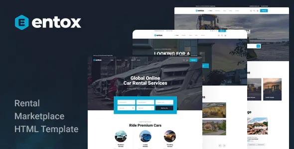 Best Rental Marketplace HTML Template