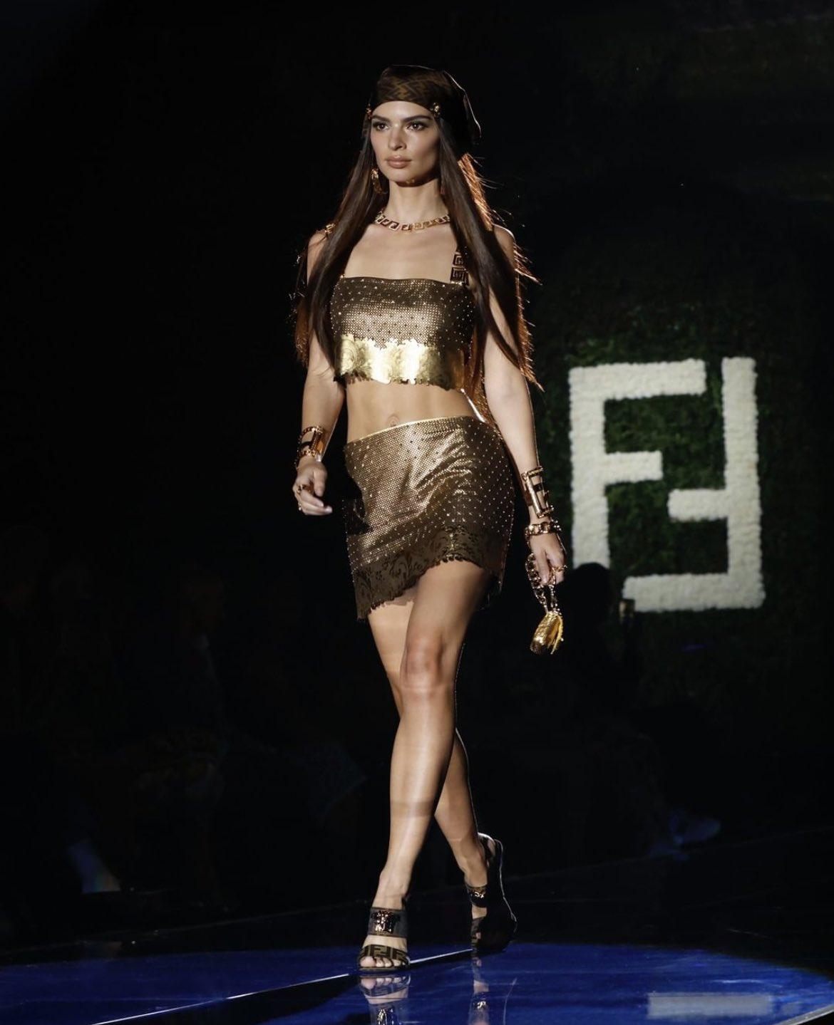 Emily - Versace x Fendi - FENDACE Collection