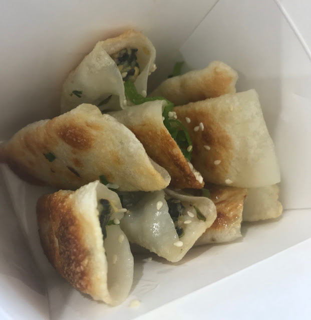 Dream Dumplings, Box Hill, chicken chive prawn dumplings