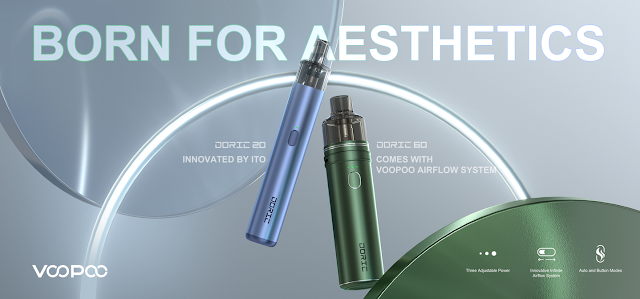 """Born for aesthetics"", the Doric 20 & 60 shine at the Middle East Dubai International E-cigarette Exhibition"