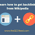 How To Get Backlinks From Wikipedia For Your Website