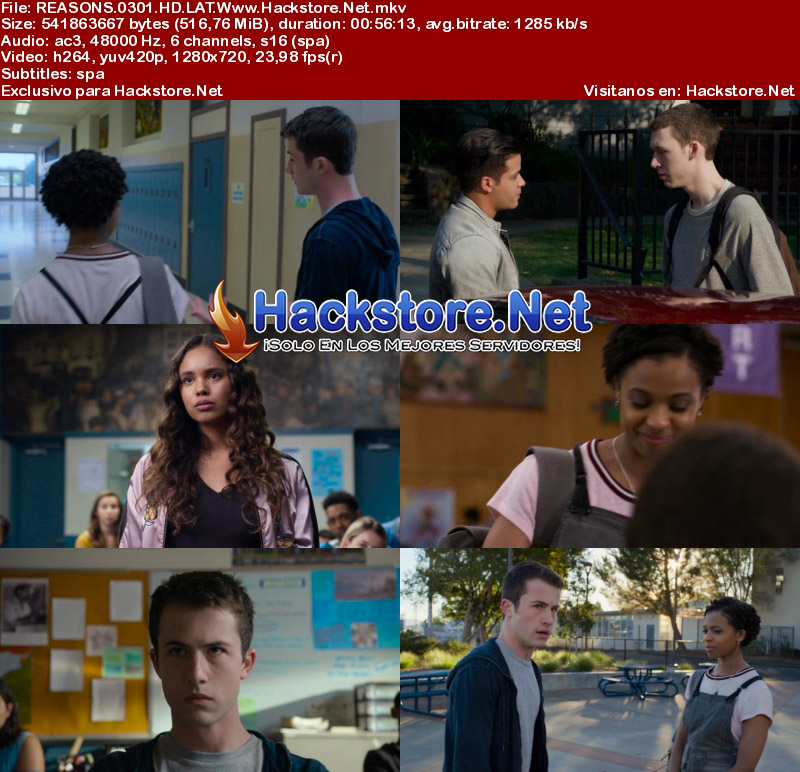 Capturas de 13 Reasons Why Temporada 3 Español Latino HD