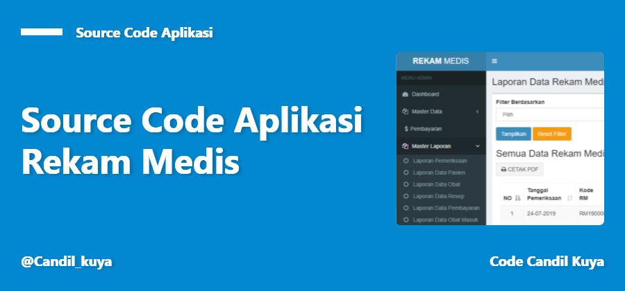 Aplikasi Rekam Medis Berbasis Website