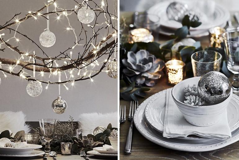 inspiración-mesas-navidad-gris-monocromo-luces-plata