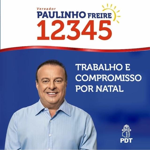 PAULINHO FREIRE: VIDA E FICHA LIMPA