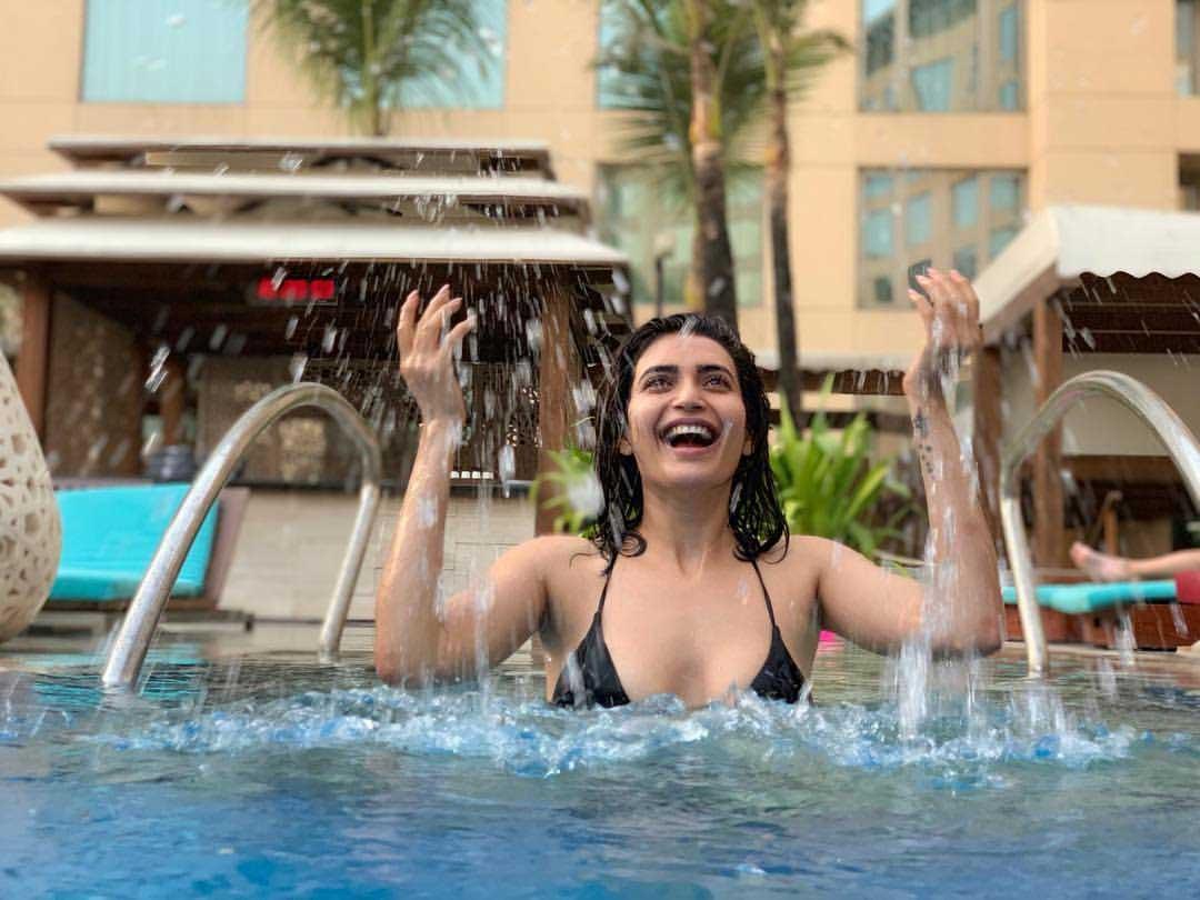 Hot and Sexy Karishma Tanna in Bikini