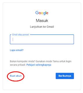 Cara Membuat Gmail Trebaru 2019