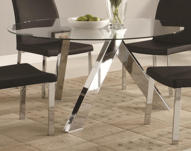 500 kitchen table and chairs glass top