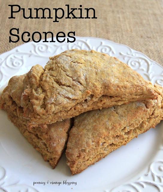 Pumpkin Scone recipe - a copycat of Starbucks