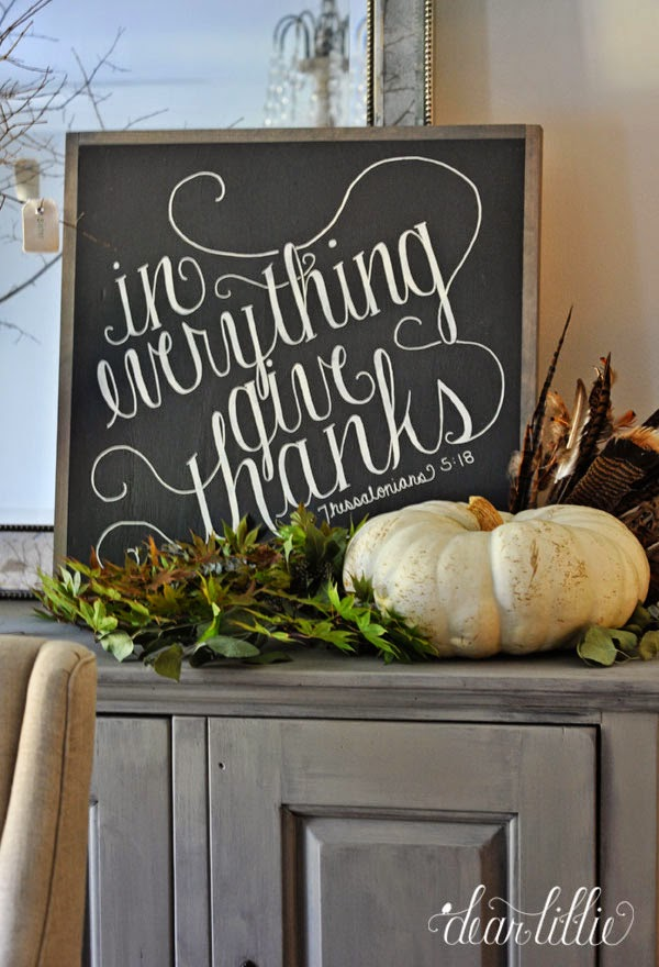 Dear Lillie: In Everything Give Thanks