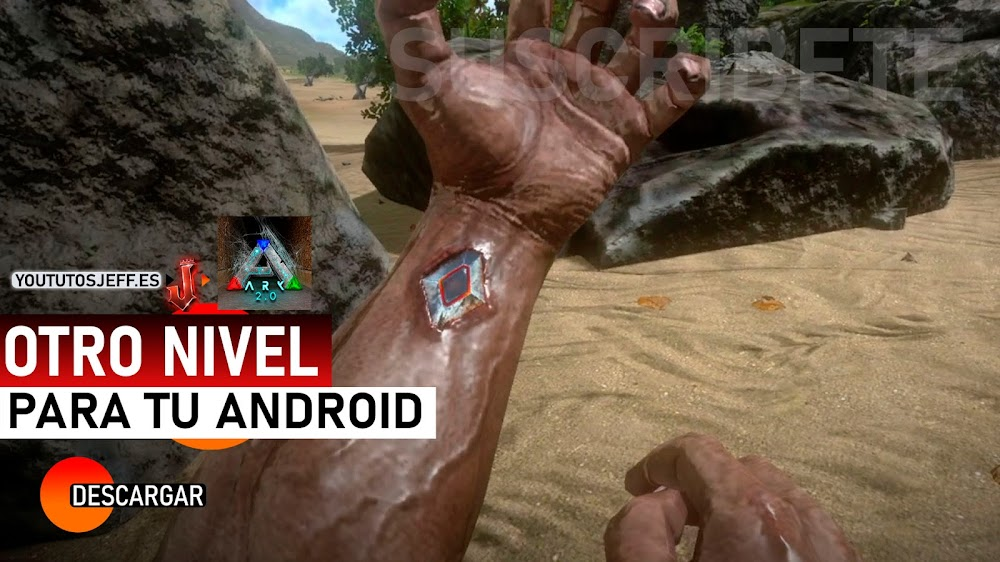 Descargar ARK Survival Evolved para Android, Otro Nivel de Gráficos