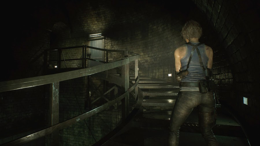 resident evil 3 remake screenshot image jill valentine sewer raccoon city