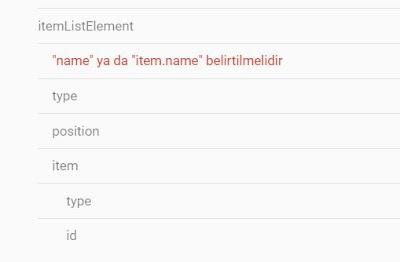 blogger name ya da item name