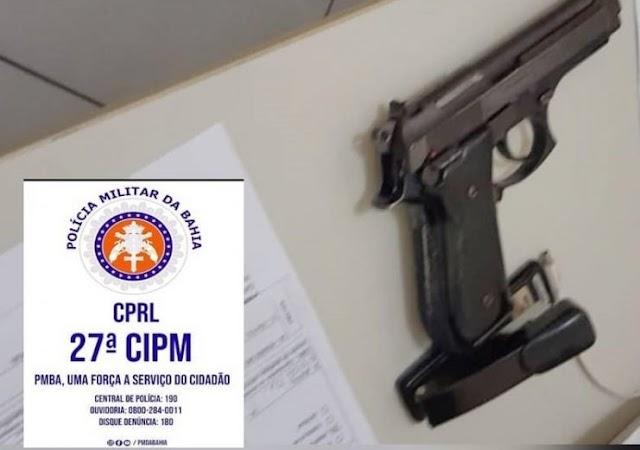 Suspeito de tráfico de drogas é morto após efetuar disparos de arma de fogo contra policiais em Muritiba-BA