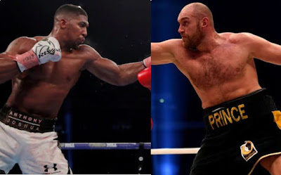 I won't allow my son to fight Anthony Joshua, Fury's father crie