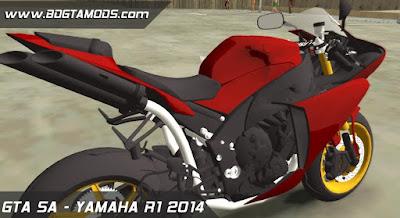 GTA SA - YAMAHA R1 2014 2
