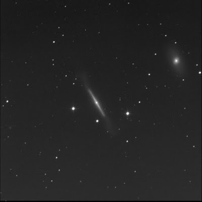 galaxy NGC 4762 in luminance