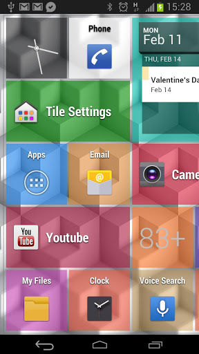 How to create windows 8 live tiles for android with best for Tile layout app