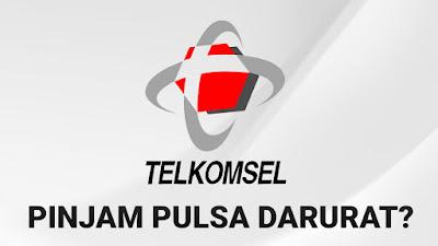 cara-pinjam-pulsa-darurat-telkomsel