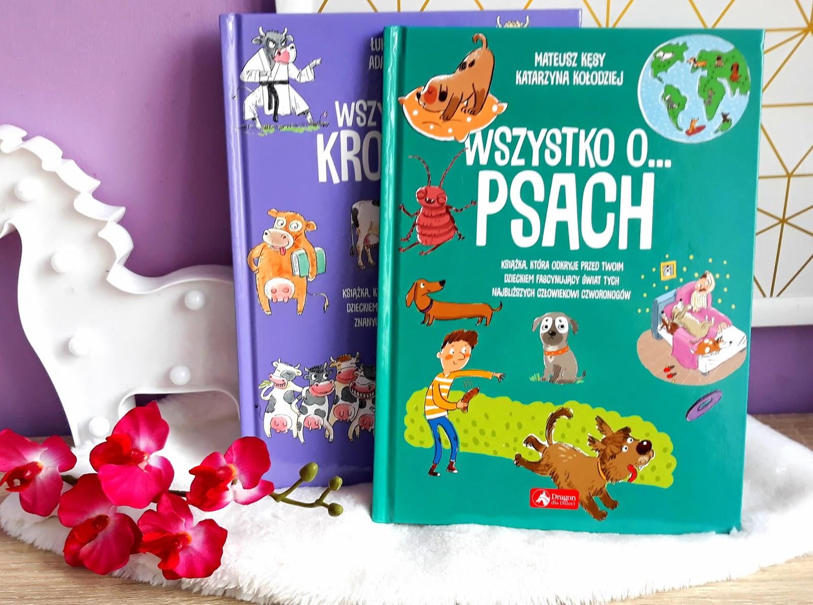"""""""Wszystko o ..."""" przepiękna seria książek dla dzieci"""