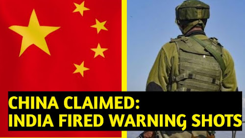 China claimed: India fired warning shots